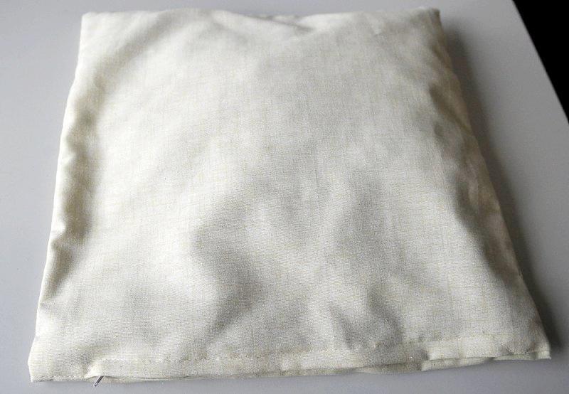 Baumwolle-Heukissen mit Reisverschluss