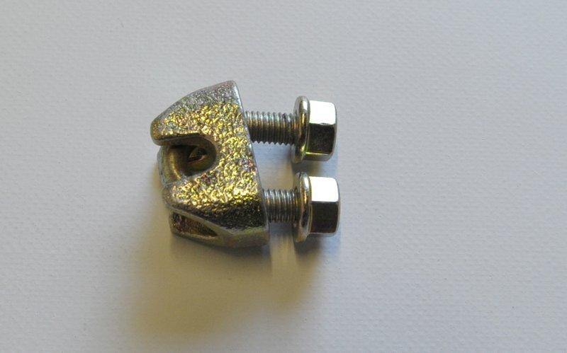 Drahtseilklemme 10mm DIN1142