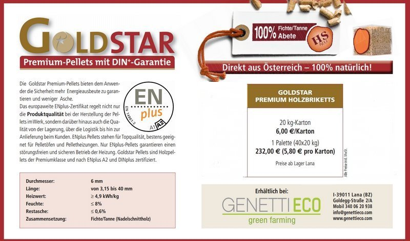 Goldstar Holzbriketts